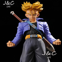 Free Shipping Hot Japanese Anime Figure Dragon Ball Z 25CM Super Saiyan No 48 Torankusu Action