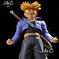 Envío Gratis Hot Japanese Anime Figura Dragon Ball Z 25 CM Escala Figura de Acción Super Saiyan No. 48 Torankusu Muñeca PVC Figure