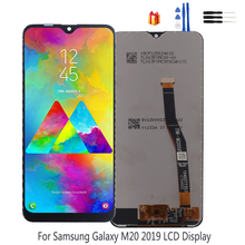 Original LCD Display For Samsung Galaxy M20 M205 Touch Screen Digitizer Assembly M20 M205 M205F SM-M205F/DS Replacement Parts 100% original for samsung galaxy s3 mini i8190 lcd display with touch screen assembly white replacement parts free tracking no