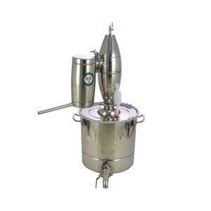 Image 4 - 30Lステンレス鋼ワイン作りボイラーホーム醸造キットアルコール蒸留器
