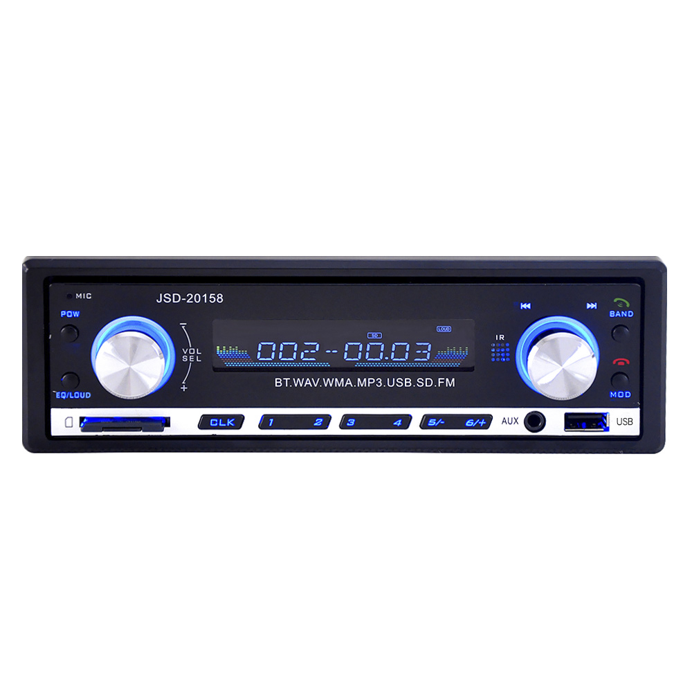 Image 3 - JSD 20158 1 Din Car Audio Auto Radio Stereo Music Bluetooth MP3 Player FM Tunner Autoradio AUX Input Radios  USB Charger Port-in Car Radios from Automobiles & Motorcycles