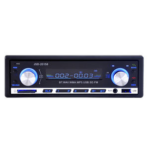 Image 3 - JSD 20158 1 Din Car Audio Auto Radio Stereo Music Bluetooth MP3 Player FM Tunner Autoradio AUX Input Radios  USB Charger Port