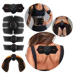 Músculo abdominal trainer massagem estimulador ab vibração sem fio corpo emagrecimento máquina queima de gordura treinamento fitness hip treino