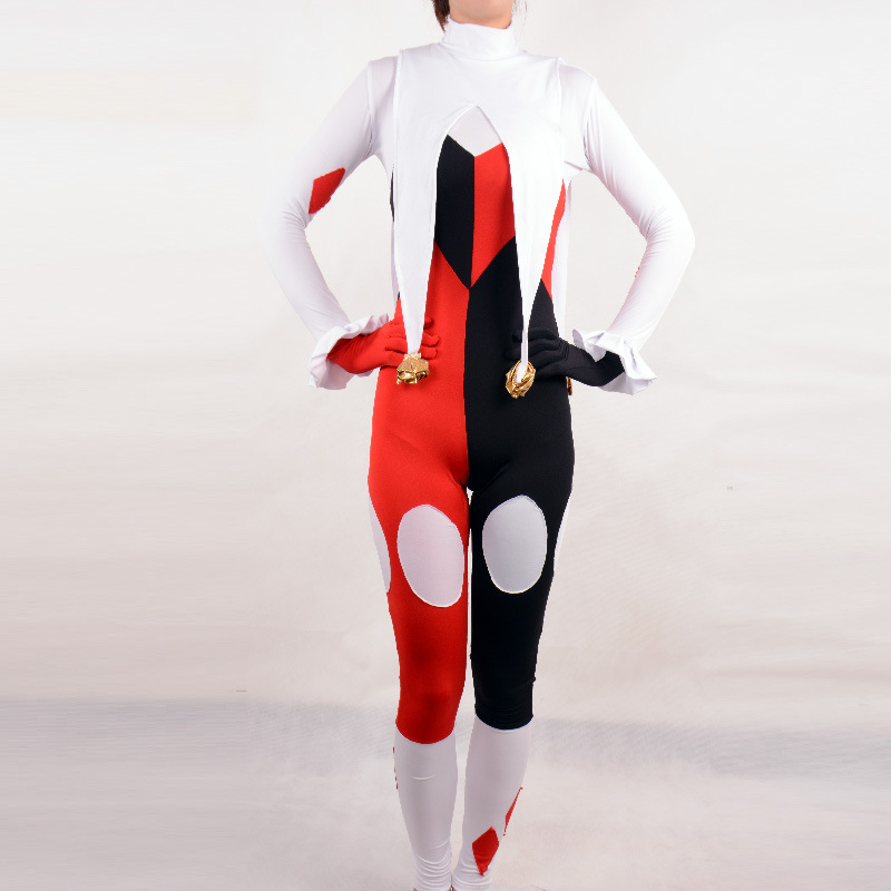 Popular Plus Size Harley Quinn Costume-Buy Cheap Plus Size Harley ...