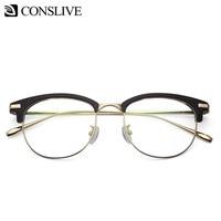 Optical Glasses Frame for Women Round Retro Men Nearsighted Eyeglasses Spectacles Women Myopia Glass Frame K151