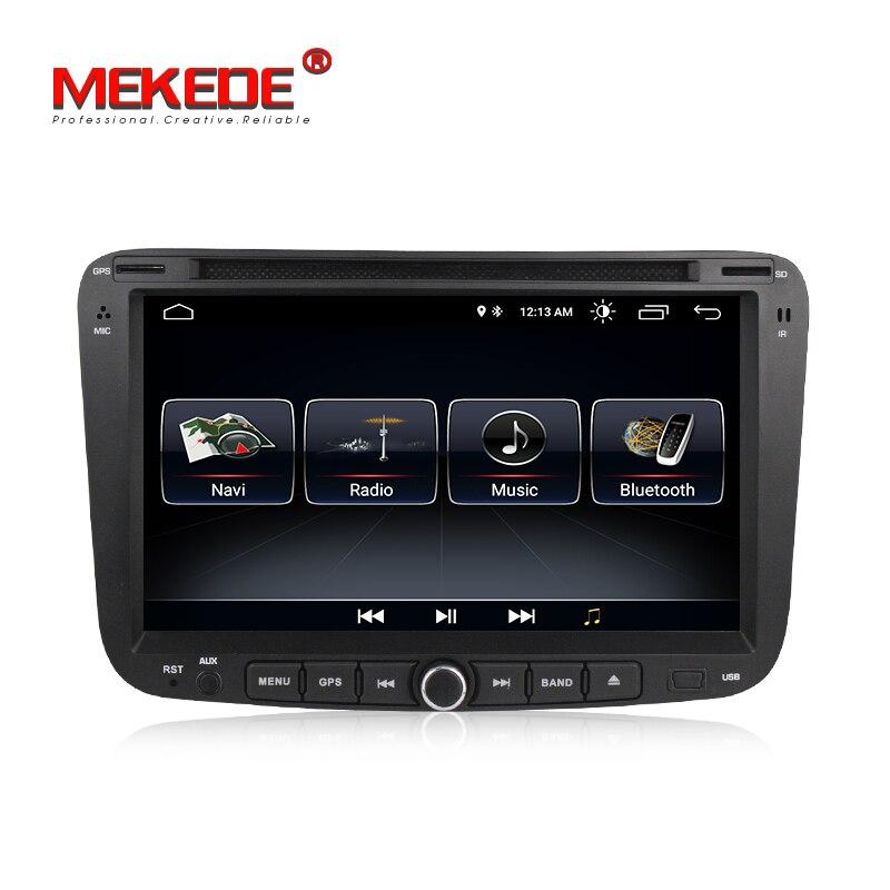 Android8.1 mic карта подарок 2din Автомагнитола аудио dvd для GEELY Emgrand EC7 2012 2013 2014 gps навигатор BT зеркало Wi-Fi 4G