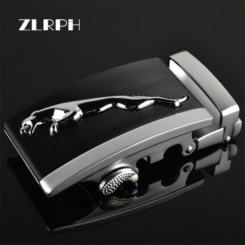 ZLRPH Famous Brand Belt Buckle Men Top Quality Luxury Belts Buckle For Men 3.4-3.6 Cm Strap Male Metal Automatic Buckle