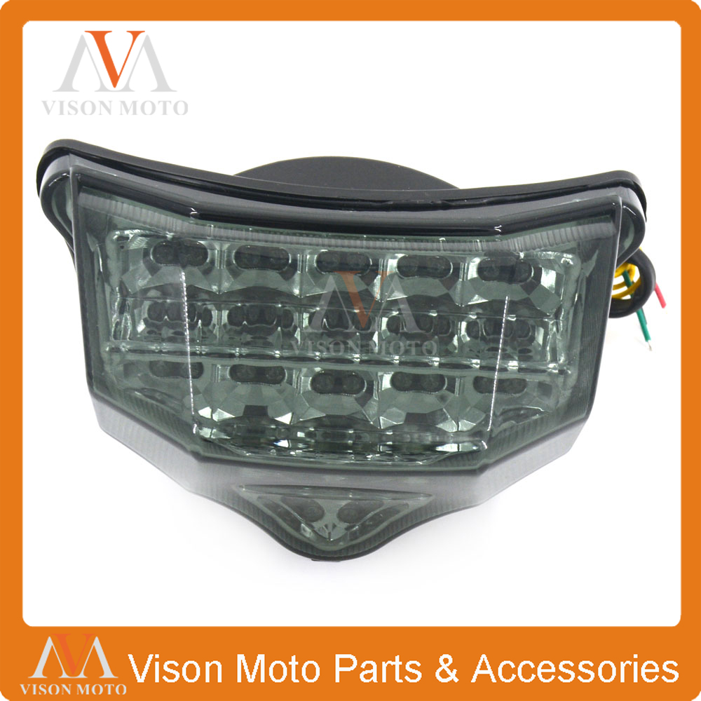 Motorcycle Rear Tail Light Brake Signals Led Integrated Lamp Light For <font><b>YAMAHA</b></font> <font><b>FZ6</b></font> FAZER 600 2004 2005 <font><b>2006</b></font> 2007 2008 2009 image