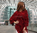 winter trend knit leopard ponchos Leisure Cardigan Knitting Coat lady Batwing Cape Poncho shawl wraps Sweater #3625