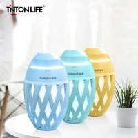 Olive Type Humidifier Mini USB Air Humidifier Essential Oil Diffuser Portable LED Aromatherapy Mist Maker Electric Aroma