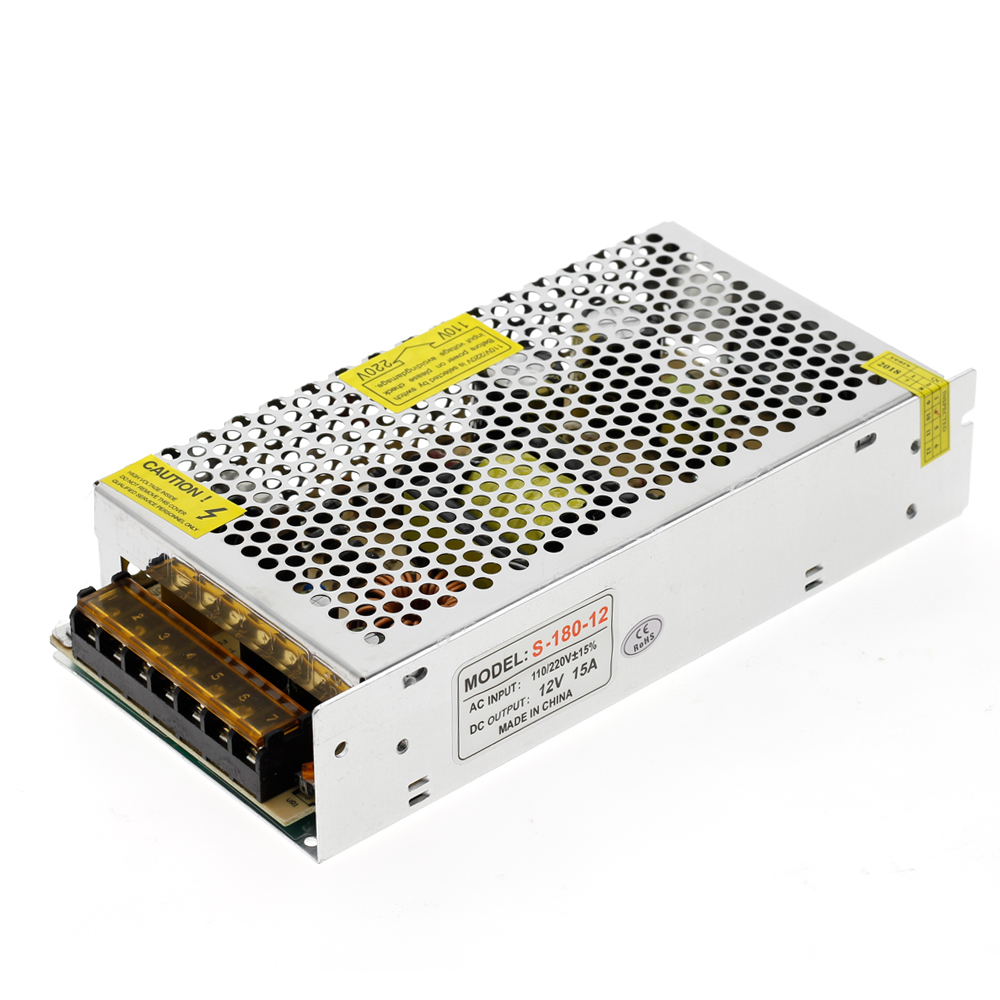 Power Supply DC12V 1A 2A 5A 8.3A 10A 15A 16.7A 20A 25A 30A 33A 40A 50A lighting Transformers LED Driver For LED Strip Switch