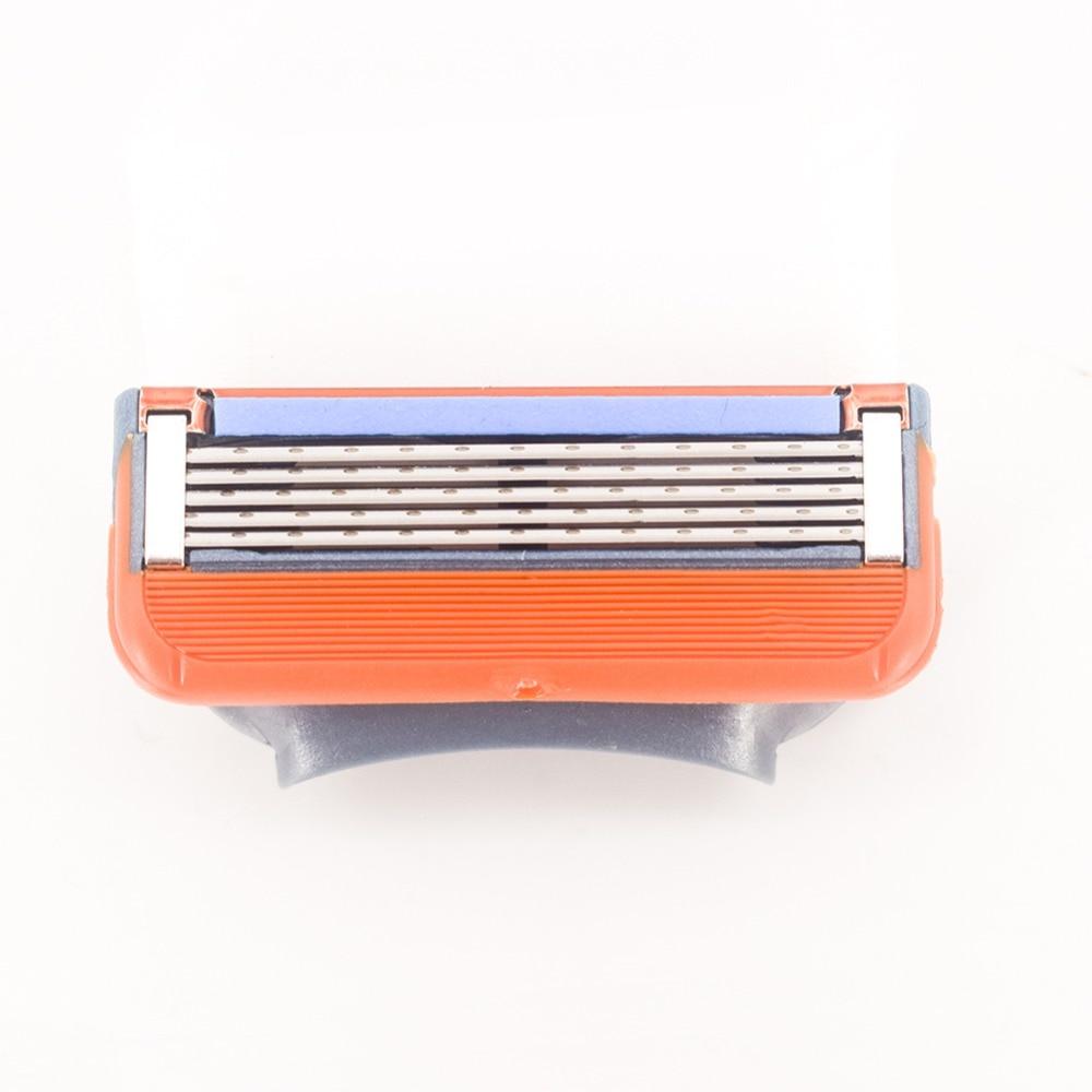 8pcs lot Razor Blades Cassette Shaving Blade for Men Face Compatible for Gillettee Fusione Proglide or Mache 3 Machine in Razor from Beauty Health