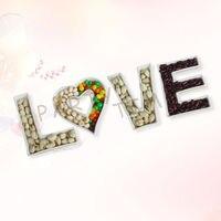 Ceramic Letter Dish LOVE Promotion & Wedding Gift Decoration Plate, valentine gift LOVE