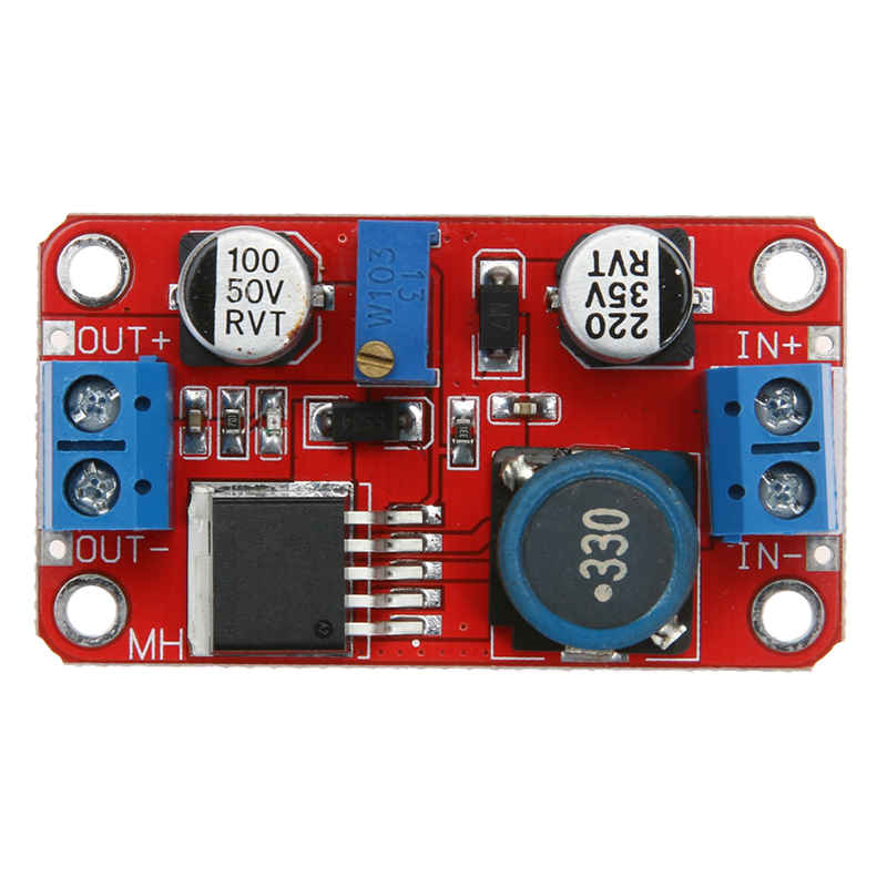 1pcs XL6019 5A Max Current DC To DC Adjustable Boost Power Supply Board Module DC 5-40V Output