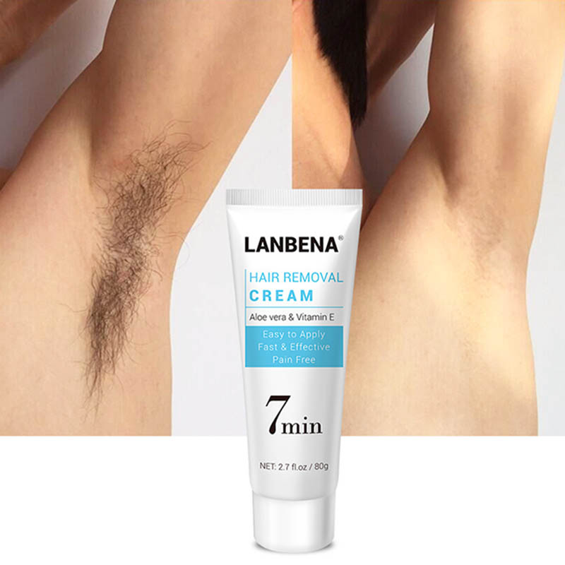Hair Removal Cream Underarm Hand Leg Body Facial Quick Painless Effective Hair Remover OA66
