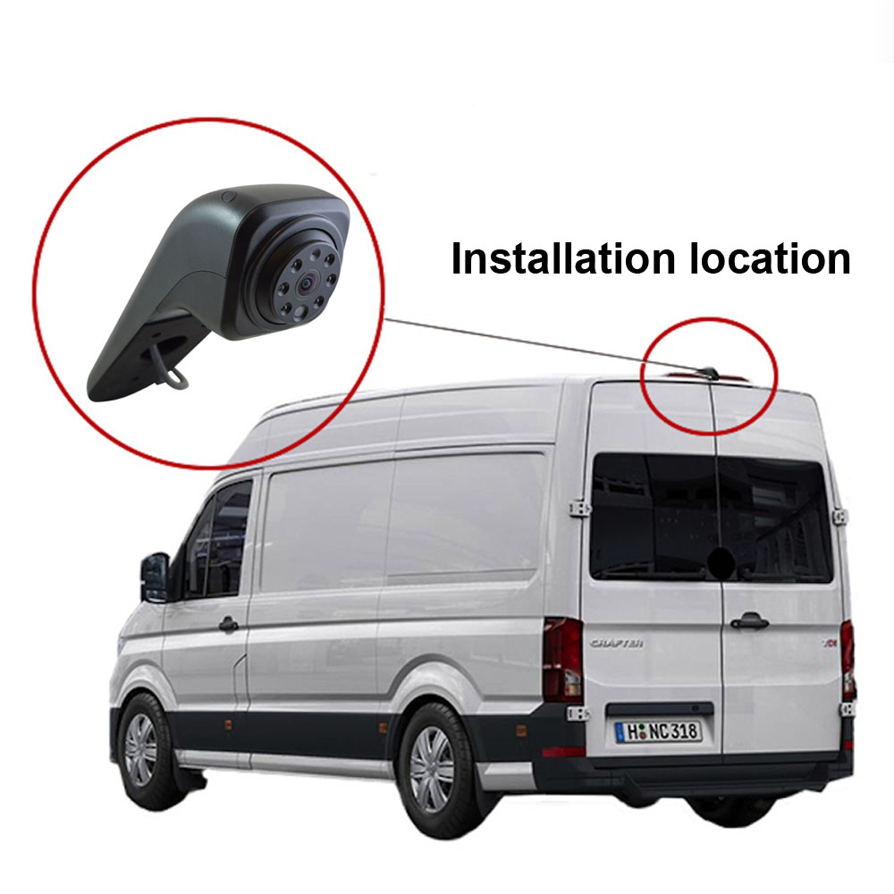 CCD car brake light reverse parking camera for VW Crafter 2017 transporter Van waterproof night vision HD IR light 170 degree wired hd ccd ip68 waterproof 170 wide angle ir night vision car rearview camera for vw new bora