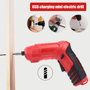 Electric Screw Driver Red Blac