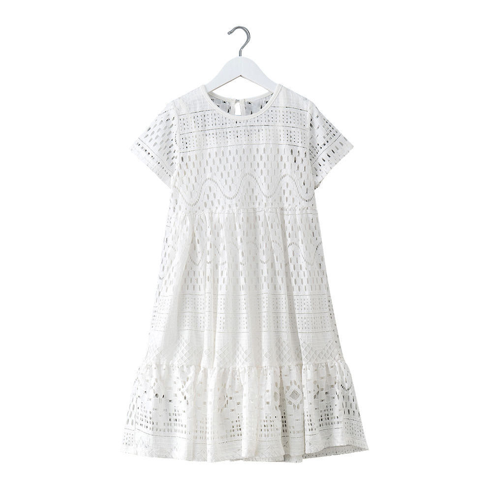 8 - 16 yrs teenage girls summer white lace long dress elegant princess gown 2018 new party clothes kids dresses for big girls teenage princess girls dresses 2018 cotton summer green purple for striped party little girls dress long kids sundress