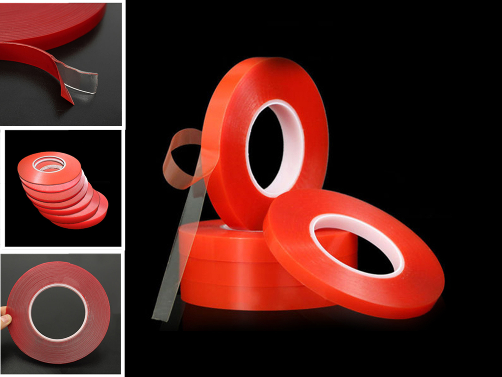 300cm Transparent Double Sided Adhesive Tape High Strength No Trace Seamless Waterproof Silicone Tape Super Strong Sticker