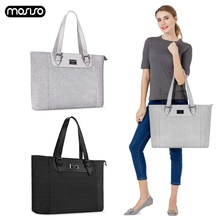 MOSISO Large Capacity Laptop Bag For Women Waterproof Notebook Tote Up to 17.3 Inch Computer Business Handbag Briefcase Bags