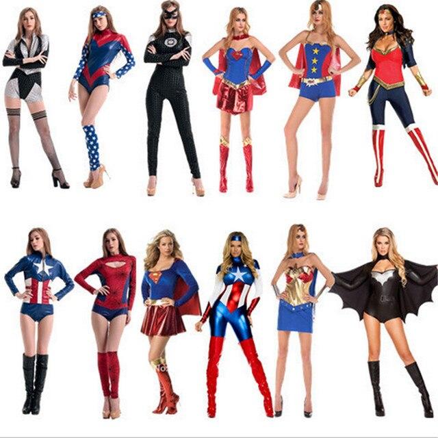 Femmes De Avengers Costume Sexy Super Soirée Héroïne Cosplay 2018 aZxpw