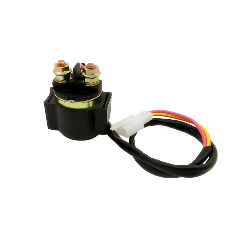 Motorcycle Starter Solenoid Relay 2 Wires For GY6 50cc 70cc 90cc 110cc 125cc  ATV Dirt Bike Moped Go Carts Scooter TaoTao