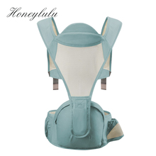 Honeylulu Baby Carrier Four Seasons Breathable Sling For Newborns Kangaroo For Baby Ergoryukzak Baby Warp Backpack Sling Hipsit кулоны подвески медальоны darvin 928071023ab