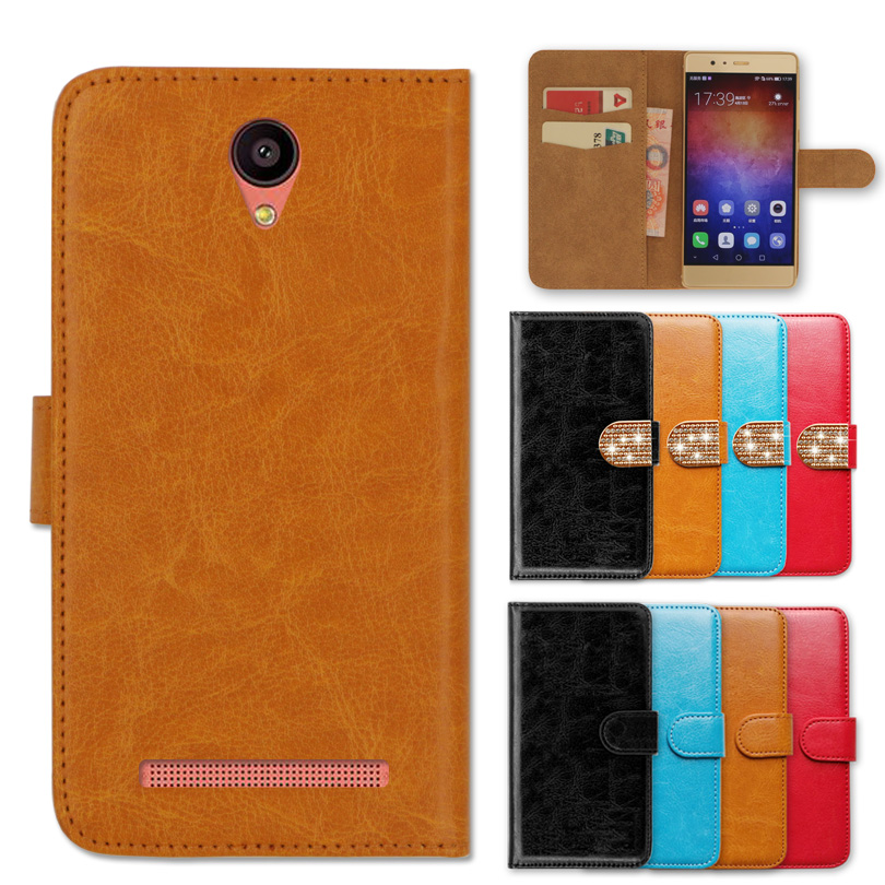 Wallet Case for <font><b>Zopo</b></font> Color M5 M5i Luck Luxury Jewelled Book Cover Leather Special <font><b>Phone</b></font> Case