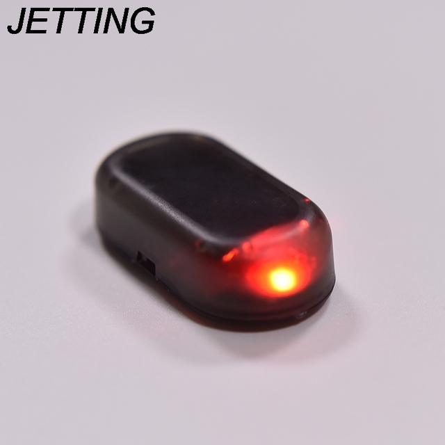 Jetting 1pc car led light security system warning theft flash jetting 1pc car led light security system warning theft flash blinking fake solar car alarm led aloadofball Image collections