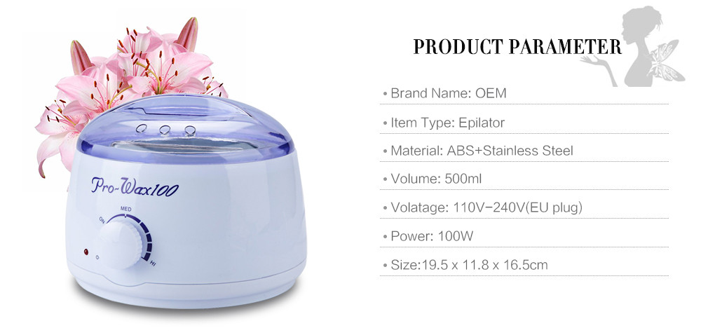Warmer Wax Heater Professional Mini SPA Hand Epilator