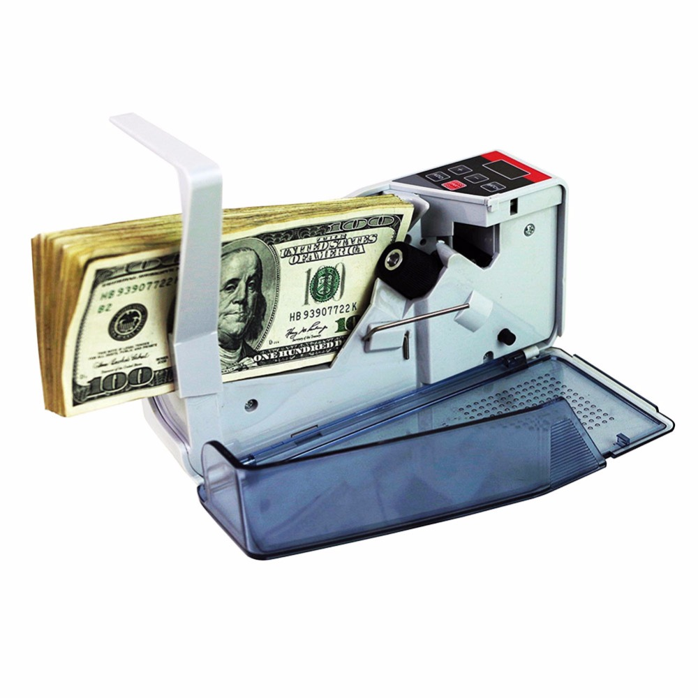 1 PC/Pack Portable Mini All-Currency-Support Money Counter For Business And Finance