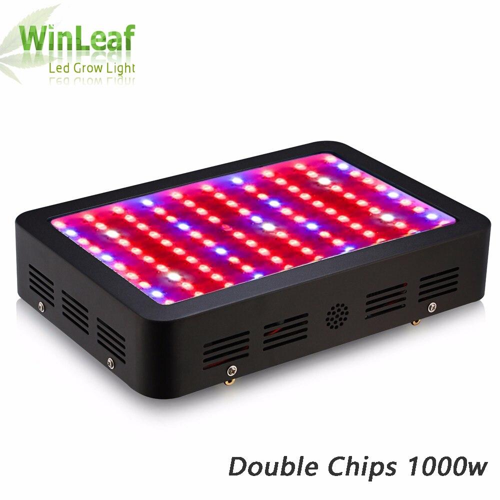 Wynleaf led grow lámpara de luz 1000 W iluminación de planta espectro completo para plantas de invernadero hidropónico plantas vegetales y plantas florecientes