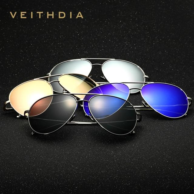 Sonnenbrille Veithdia Polarized Sunglasses Mens Uv400 Sunglasses Vintage Sun Glasses Gafas De Sol Oculos Masculino Lunettes 3360