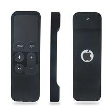 Apple TV 용 리모콘 4 세대 헤비 쇼크 흡수 충격 방지 실리콘 리모콘 iTV 4 리모콘 보호 케이스 fundas