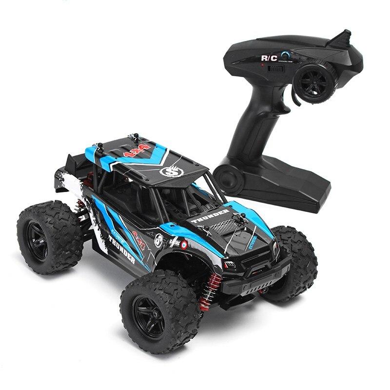 18311 1:18 35 Km/u 2.4g 4ch 4wd Hoge Snelheid Klimmer Crawler Rc Auto Speelgoed Blauw Rood Rc Speelgoed Modellen Voor Jongen Kids Geschenken Presenteert Het Hele Systeem Versterken En Versterken