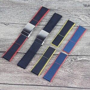 Аксессуары для часов мужской нейлоновый ремешок для Breitling ремешок Мстители 22 мм 24 мм женский водонепроницаемый спортивный ремешок отправит...