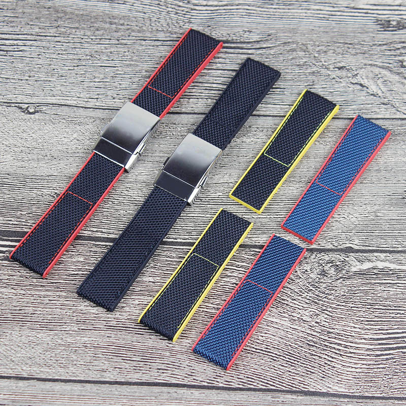 Watch Accessories Mens Nylon Strap for Breitling Strap Avengers Strap 22mm 24mm Womens Waterproof Sports Strap Send toolWatch Accessories Mens Nylon Strap for Breitling Strap Avengers Strap 22mm 24mm Womens Waterproof Sports Strap Send tool
