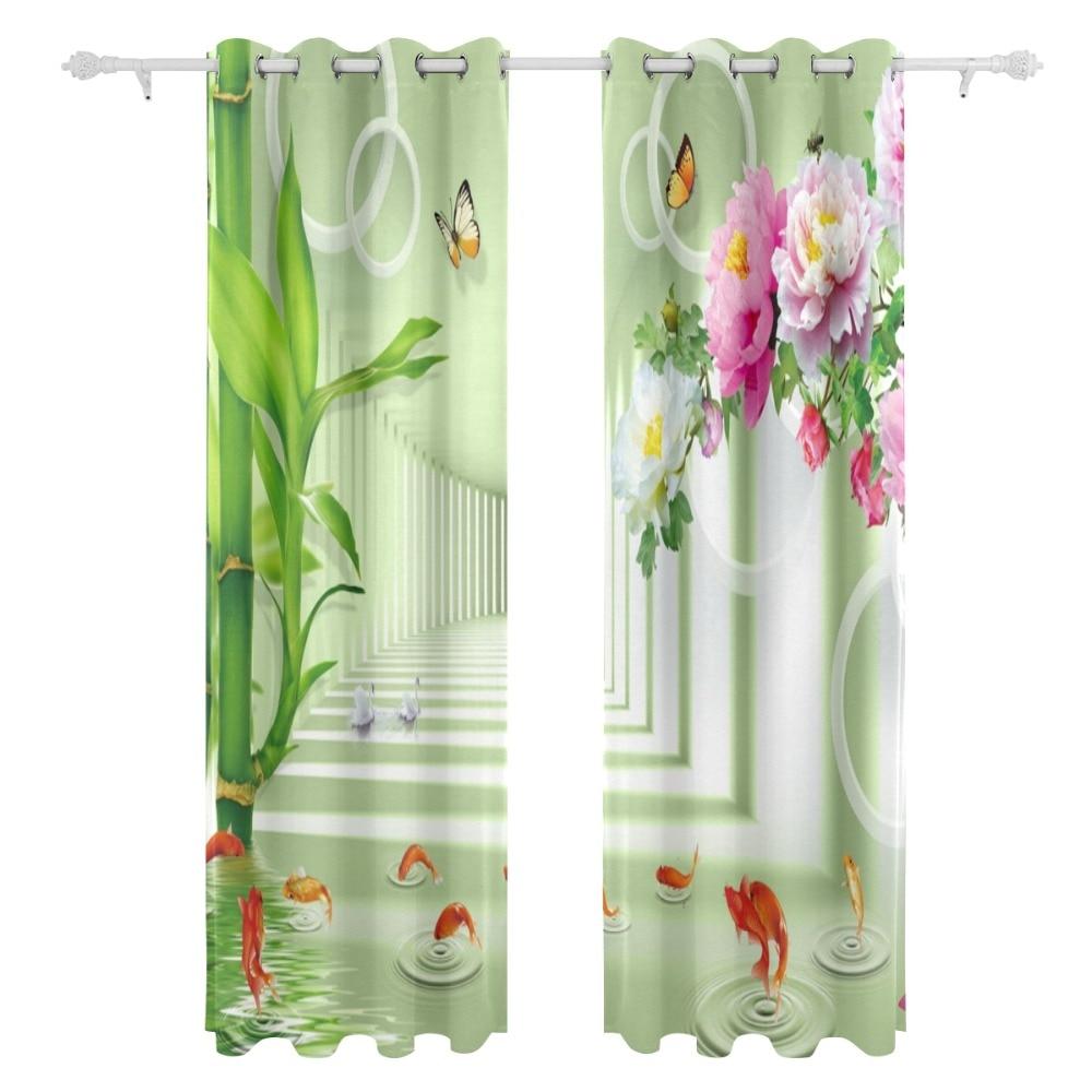 aliexpress : chinesische bambusvorhang stil grünen vorhang für, Schlafzimmer entwurf