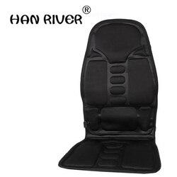 110-220-24v carro casa escritório completo-bodymassage almofada. Cadeira de massagem do pescoço traseiro massagem relaxamento assento de carro. Vibrar calor Colchão