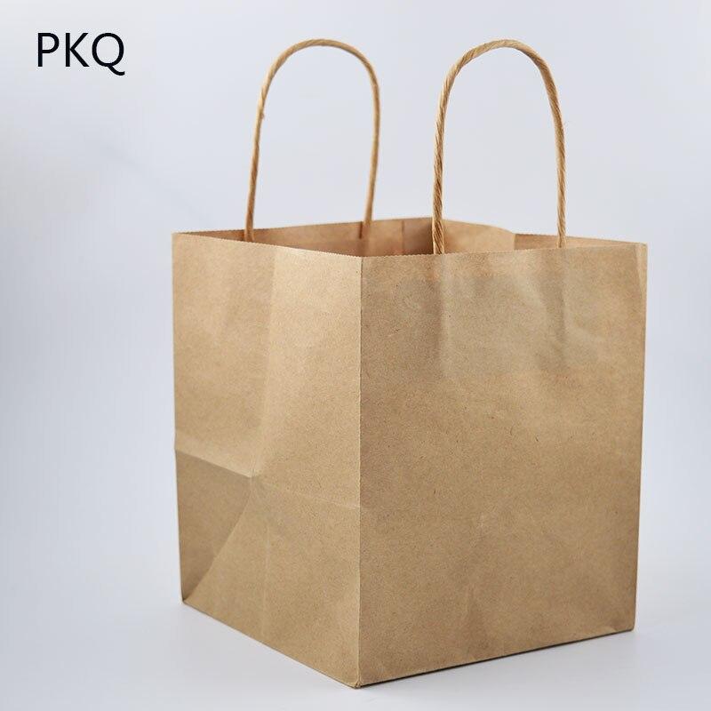 Kraft paper bag 100mm*100MM*10Pcs NEW GOOD
