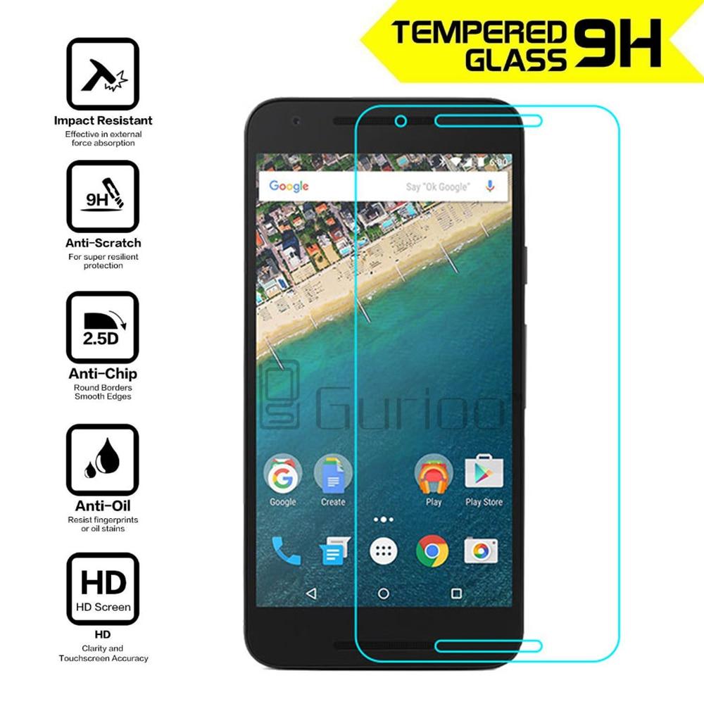 Explosion-proof Tempered Glass For LG Google Nexus 5X 5 Nexus 6P 6 Nexus5 Premium Screen Anti Protector Film