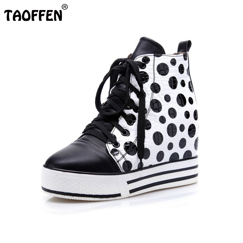 ФОТО Free shipping ankle short wedge boots women snow fashion winter warm boot footwear P15178 EUR size 34-41
