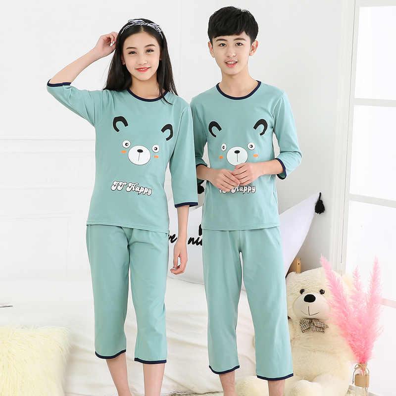Baby Kids Boys Girls Cartoon Pajamas Sleepwear Outfit Pyjamas Pjs Nightwear Set