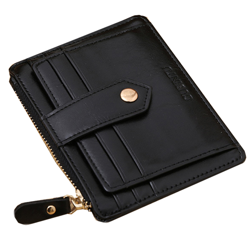 GUBINTU Business Men Credit Card Holder Purse Minimalist Women Card Wallet Brand Handbag Wallet Cover For Documents- BID071 PR49 casual weaving design card holder handbag hasp wallet for women