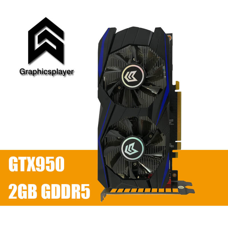 Grafikkarte PCI-E GTX 950 2 GB GDDR5 128Bit Placa de Video carte graphique Grafikkarte für Nvidia