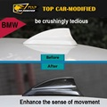 Free shipping 2014 2015 for BMW X5 F15 Car Roof Antenna Shark Fin Cover Trim Carbon Fiber 1pc