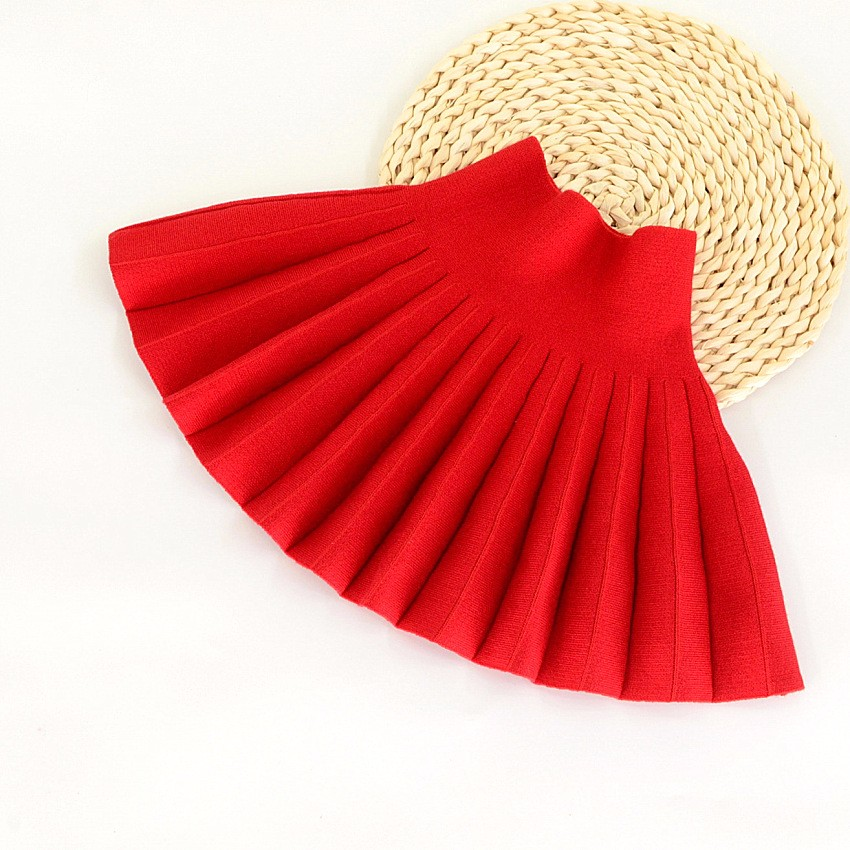 2017-Spring-autumn-winter-children-skirts-casual-color-red-black-skirts-for-girls-New-2T-10T-kids-girls-pleated-skirts-1