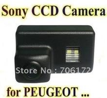 Sony hd ccd especial del coche de visión trasera inversa cámara de reserva de marcha atrás para Peugeot 206 207 306 307 308 406 407 5008 Socio Tepee