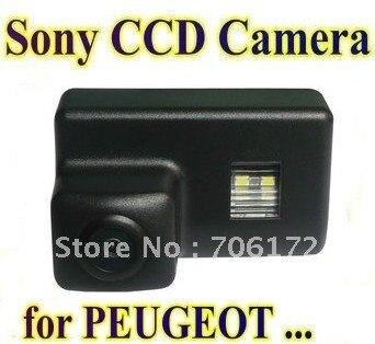 Sony HD CCD Spezielle Auto-hintere Ansicht-rückseite-kamera für Peugeot 206 207 306 307 308 406 407 5008 Partner Tepee