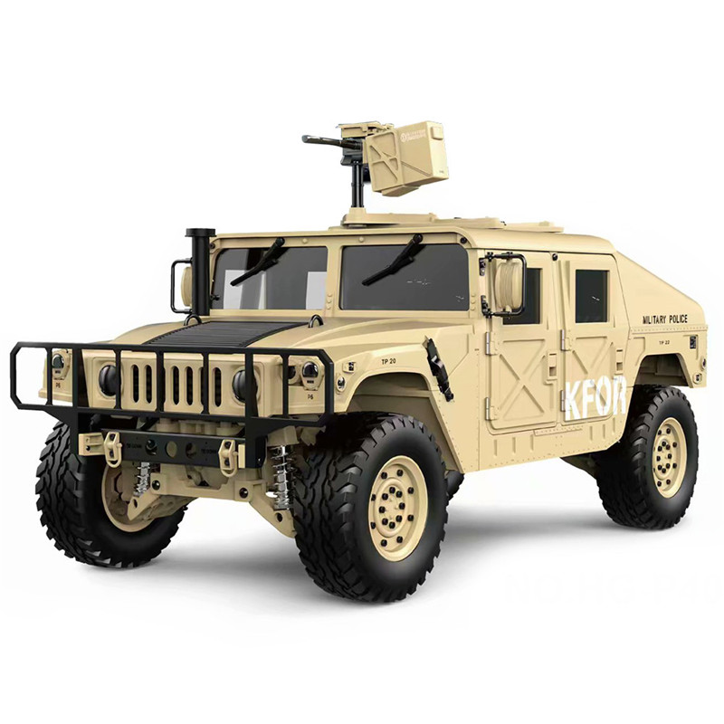 HG P408 Upgraded Light Sound Function 1/10 2.4G 4WD 16CH 30km/h Rc Model Car U.S.4X4 60A ESC Vehicle Toy High Speed RC Car